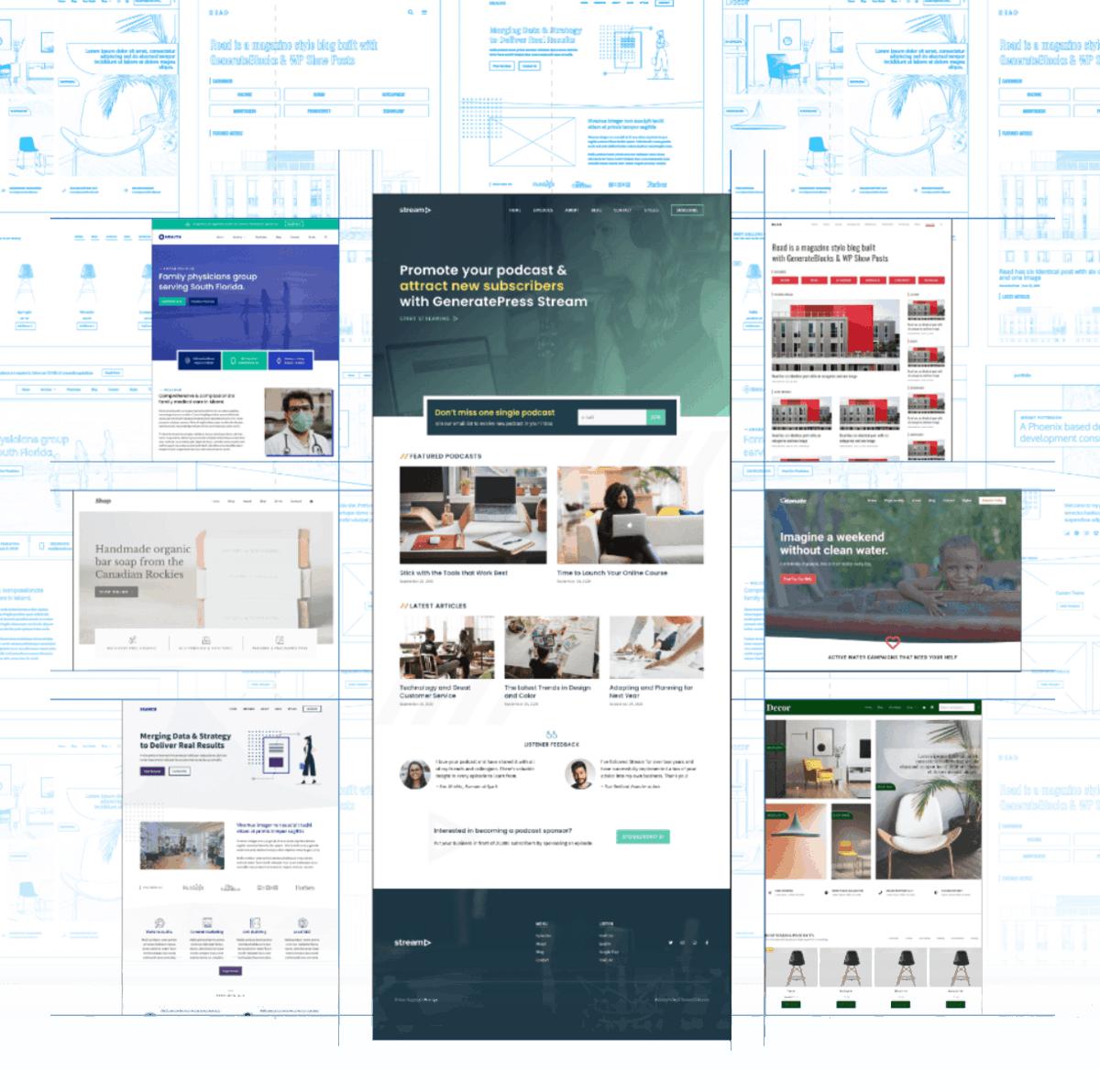 GeneratePress Sites