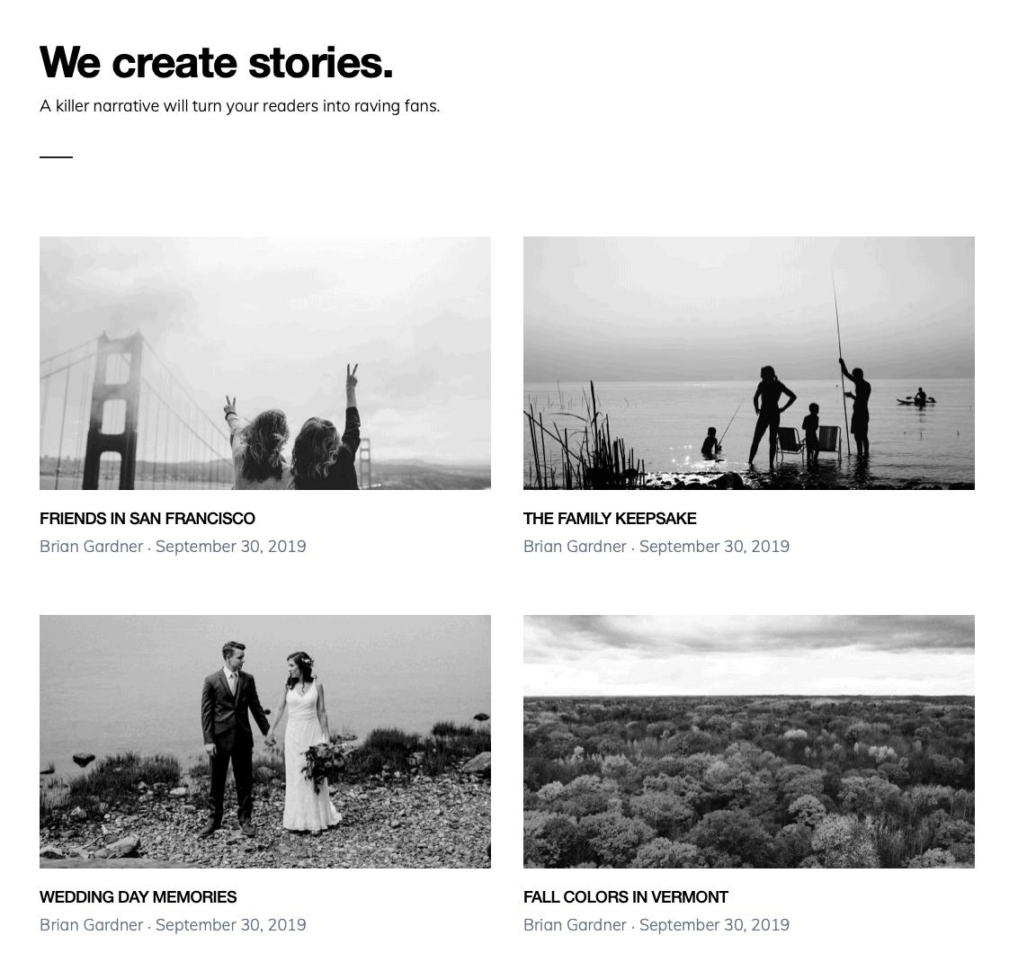 Monochrome Pro Blog Featured Images