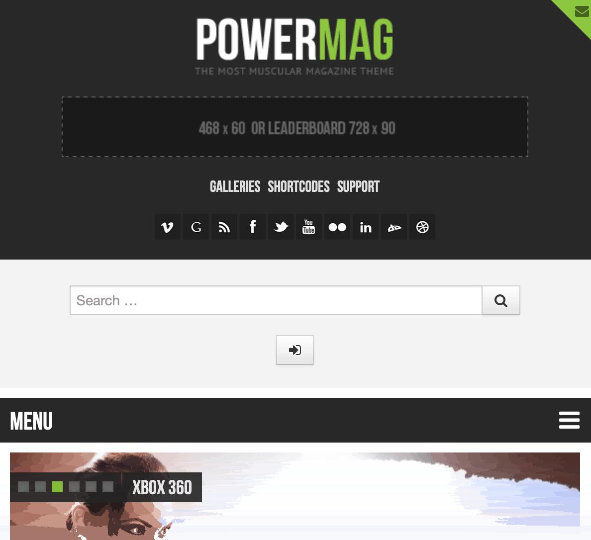 PowerMag Theme Preview