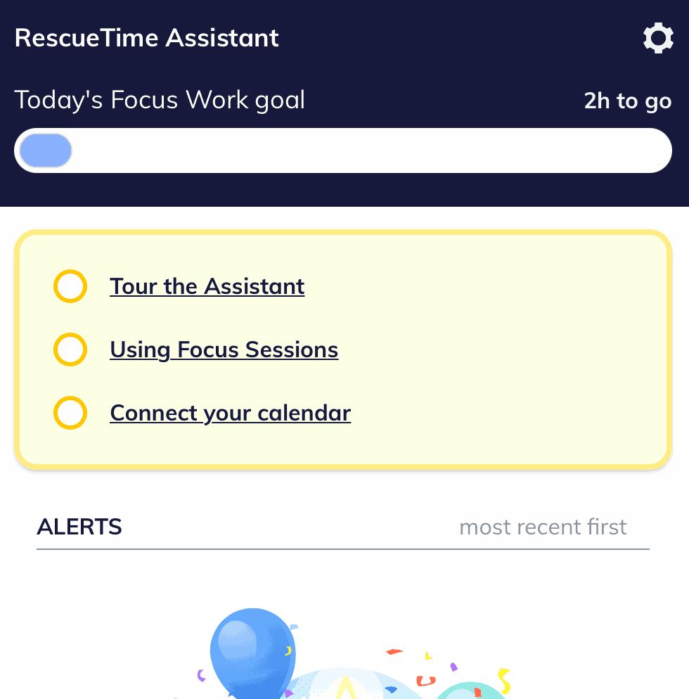 RescueTime Desktop App