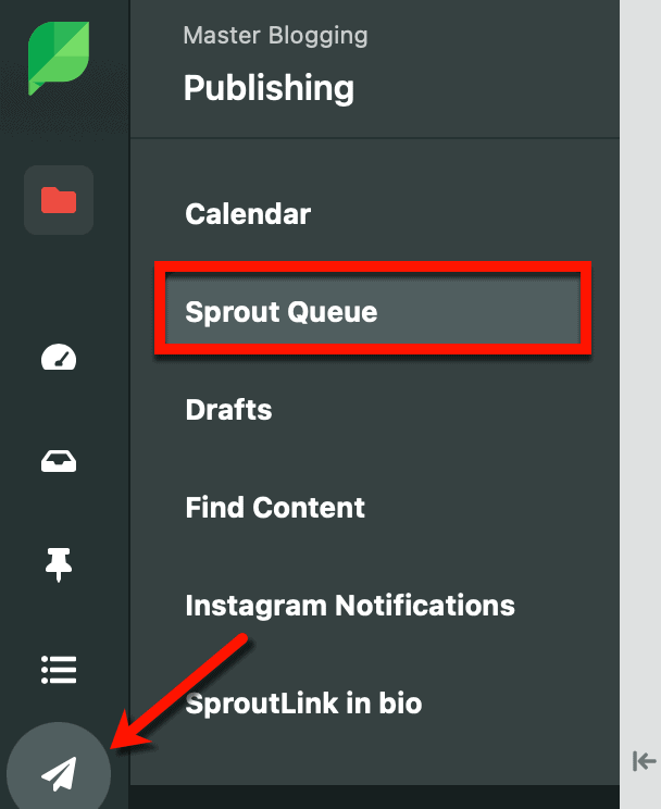 Sprout Social Queue Settings
