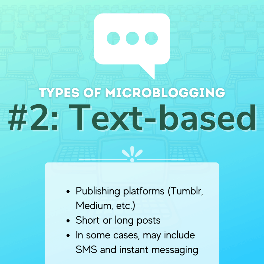 Text-Based Microblogging