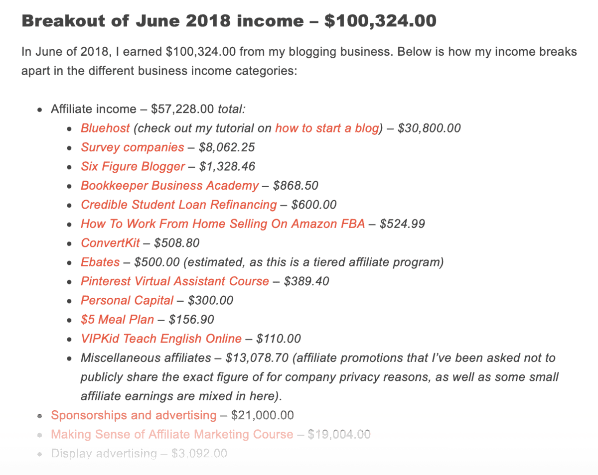 Making Sense of Cents Income Report